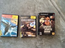 PS 2 games to include grand theft auto in Camp Lejeune, North Carolina