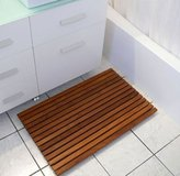 Shower Wood Floor Mat in Los Angeles, California