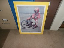 Signed Photo Poster of  Rick Woods in 29 Palms, California