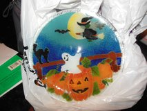Halloween Plate To Display or use From Von Maur in Algonquin, Illinois