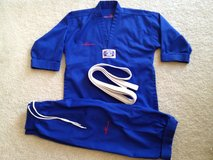 KIDS Karate Costume Martial Arts Fits ages 5-7 in Plainfield, Illinois