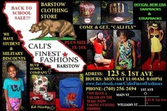 New Clothing Store In Barstow, California in Barstow, California