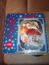 Christmas Coca Cola puzzle & tin in Clarksville, Tennessee