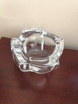 VINTAGE ART DECO CRYSTAL GLASS ASHTRAY BY DAUM NANCY in Bolingbrook, Illinois