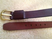 NEW Perry Ellis LRG Genuine Leather Belt in Lockport, Illinois