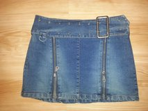 Mini Stretch Denim Skirt Size M in Hinesville, Georgia