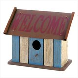 "Designer Birdhouse: ""Striped Welcome"" 12581 New in Fort Lewis, Washington"