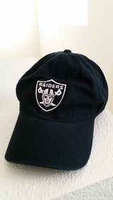 Oakland Raiders Cap in Travis AFB, California