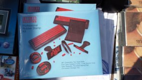 Rubber Stamp Kit X 2 in Baumholder, GE