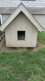 Custom Made Giant Dog House in Fort Riley, Kansas
