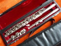 Pearl solid silver flute in Ramstein, Germany