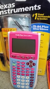 Texas Instruments/TI-84 Plus Silver Edition in Fort Lewis, Washington