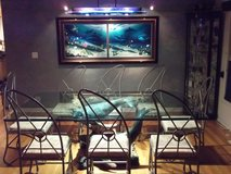 WYLAND Dining Room Table & Painting in Joliet, Illinois