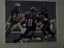 ** SEAHAWKS - Wilson, Hasselbeck & Zorn 8x10 framed Lithograph **(NEW) in Tacoma, Washington