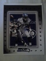 *** SEAHAWKS - Marcus Trufaunt 8x10 framed Lithograph *** (NEW) in Fort Lewis, Washington