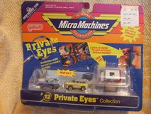Galoob Micro Machines Private Eyes Collection #12 NIP in Lockport, Illinois