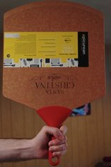 "Epicurean Pizza Peel - Natural with Red Handle 18"" x 12"" in Fort Leonard Wood, Missouri"