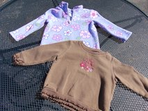 Two 24 month girl shirts in Sandwich, Illinois
