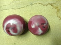 Weight balls, great for yoga, tai chi. Purple available, not maroon ones in Ramstein, Germany