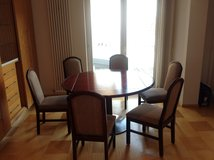 Wooden top Dining Set in Ramstein, Germany