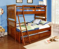 Triple Sleeper Bunk Bed also as regular Bunkbed - monthly payments possible in Hohenfels, Germany