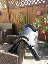 Horse saddle in Ramstein, Germany