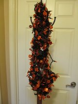 Halloween Lighted Tinsel Garland~Reduced in Yorkville, Illinois