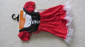 red ridinghood costume NEW in Joliet, Illinois