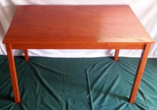IKEA Kitchen Table - Rectangular & Solid Wood in Salina, Kansas
