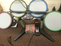 ps3 drum set with 5 games in Elizabethtown, Kentucky