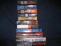 Vince Flynn collection in Fort Benning, Georgia