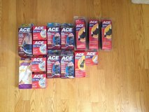 HUGE LOT of ACE Medical Supplies - NEW Slings Wraps Braces Arm Ankle Back Wrist Thumb & MORE in Bolingbrook, Illinois