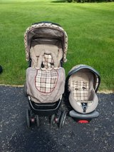 Eddie Bauer travel system & matching swing in Joliet, Illinois