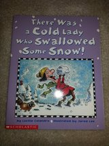 There Was a Cold Lady Who Swallowed Some Snow! book in Camp Lejeune, North Carolina