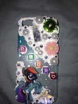 My little pony (blue) custom iPhone 5 case in Fort Bliss, Texas