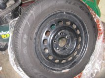 Spare tire and rim in Joliet, Illinois