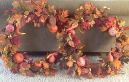 Fall Wreaths in New Lenox, Illinois