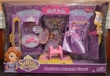 Sofia the first portable princess closet new in Westmont, Illinois
