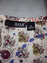 A.N.A Floral Blouse in Fort Bliss, Texas