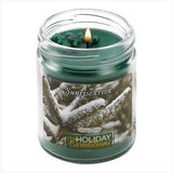 45-hrs Soy Scented Lidded Jar Candle ~ Winter Pine ~ New in Fort Lewis, Washington