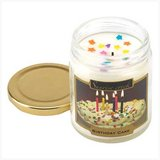 45-hrs Soy Scented Lidded Jar Candle ~ Birthday Cake - New in Fort Lewis, Washington