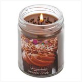 45-hrs Scented Lidded Soy Jar Candle ~ Rich Creamy Chocolate - New in Tacoma, Washington