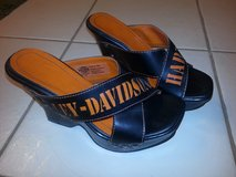 Reduced!!Ladies Harley Davidson   shoes size 7.5 in Plainfield, Illinois