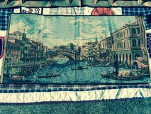 Original Italian Venice Tapestry in Fort Lewis, Washington