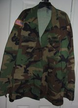 REAL US Army Camo Uniform Shirt Soldier Costume Adult 2 in Kingwood, Texas