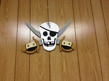 Skull with Swords in Alexandria, Louisiana