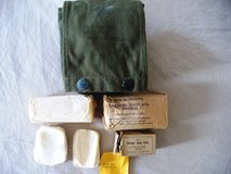 Vietnam Era US Army Pilot Aviator Camouflaged First Aid Kit in Batavia, Illinois