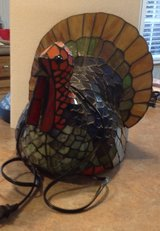 Thanksgiving Stained Glass Turkey in Wilmington, North Carolina
