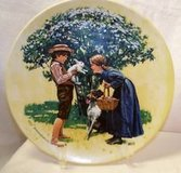 NORMAN ROCKWELL COLLECTIBLE PLATES SIX OF THEM ! in Leesville, Louisiana
