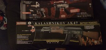 Air soft rifles MK IV / AK47 in Vacaville, California